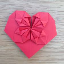origami heart the instructions are fairly straightforwards it looks plicated but once you get the hang of it it only takes a couple of minutes to