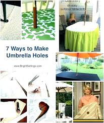 fitted outdoor tablecloth with umbrella hole umbrella tablecloth square zipper decoration awesome round patio tablecloth with umbrella hole or fitted