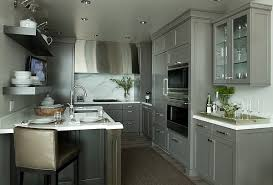 View in gallery Stunning kitchen cabinets in cool gray