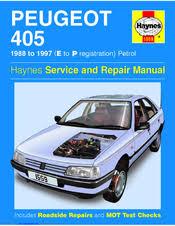 PEUGEOT 405 SERVICE AND REPAIR MANUAL Pdf Download.