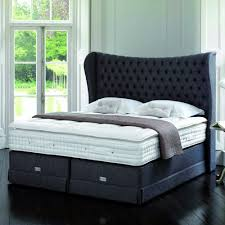excellent bed linens with white queen memory foam mattress topper and  upholstered headboard for elegant bedroom