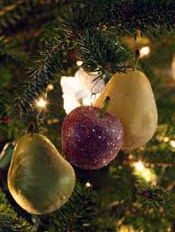 fruit christmas decorations. Brilliant Fruit Last Week When My Husband And I Were Decorating Our Christmas Tree Adam  Looked At These Glittered Fruit Ornaments Asked Me  To Fruit Decorations V
