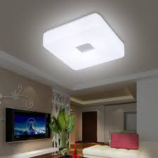 lighting options for living room. Free Shipping Modern Led Flush Mount Surface Mounted Square Shape LED Ceiling Light For Living Room Foryer Hallway Lighting-in Lights From Lighting Options