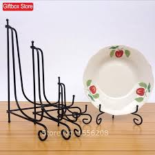 Diy Plate Display Stand Unique Decorative Plate Easel Free Shipping Decorative Iron Table Picture