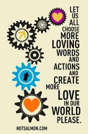 Image result for images of loving words and actions