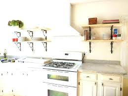 under kitchen cabinet shelf storage shelves open shelving cabinets supports s ikea cabin