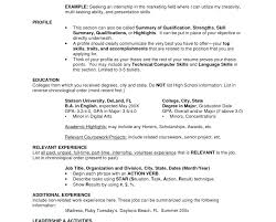 How To List High School Education On Resume Listing Education On