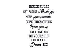 House Rules Svg Cut File By Creative Fabrica Crafts Creative Fabrica