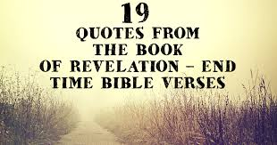 Revelation Quotes Gorgeous 48 Quotes From The Book Of Revelation End Time Bible Verses
