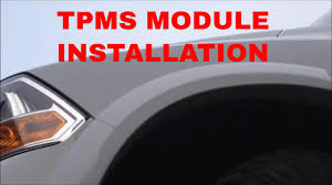 2012 Dodge Ram 2500 Tire Light Load Inflation Button 2009 2012 Dodge Ram Tire Pressure Module Installation Replacement Video