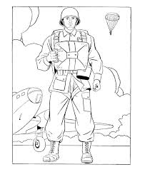 Soldier Coloring Pages At Free Printable Soldier Coloring Pages
