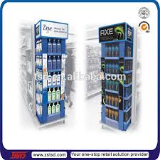 Retail Product Display Stands TSDW100 Custom free standing display stand for shampooretail 39