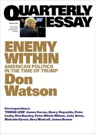 enemy in quarterly essay enemy in american politics in the time of trump