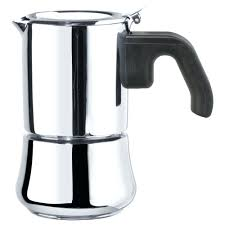 italian coffee kettle espresso maker for 3 cups stainless steel kettles