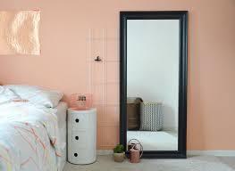 Eine Wand In Der Farbe Von Pfirsich Sorbet Meinung Von Schlafzimmer