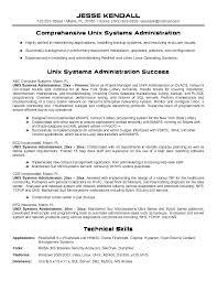 Sample Network Administrator Resume Network Administrator Network Stunning Linux Fresher Resume Format