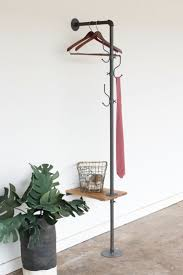 Industrial Style Coat Rack The Farmhouse Butler Wall coat rack Coat racks and Industrial 18