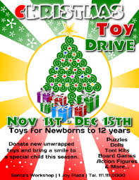 Food Drive Flyers Templates Christmas Toy Drive Flyer Template 3 For Microsoft Word