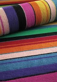 multi colored striped rugs