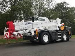 Rivertek Services Ltd New Kato Cr 250rv 25 Ton City Crane