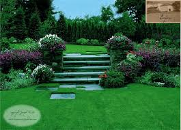 garden steps plantingstraditional landscape newark