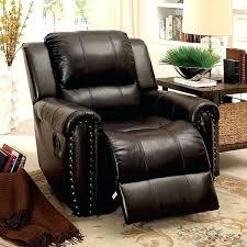 leather glider recliner gliding