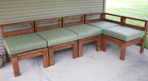 diy outdoor sectional seating