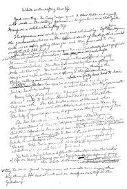 words of wisdom from mother to son mysterious ways a scan of rose s original handwritten essay
