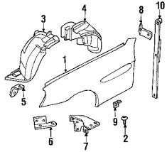 Genuine bmw mount bracket bmw 41357011643