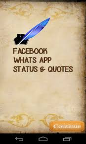 Status Quotes Extraordinary Download Whatsapp Facebook Status Quotes APK For FREE On GetJar