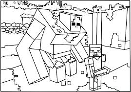 Minecraft Coloring Pages Minecraft Alex Coloring Page Minecraft