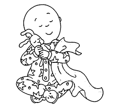 Small Picture Caillou Coloring Pages akmame