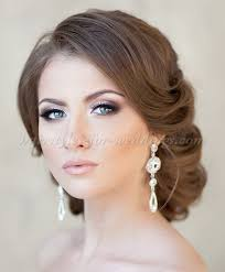 low bun hairstyle for weddings