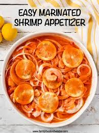 A cold and refreshing appetizer is a great way to start a meal. Easy Marinated Shrimp Appetizer Family Food On The Table