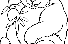 Small Picture Panda Bear Coloring Pages fablesfromthefriendscom