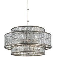 mercury glass chandelier luxury home lighting decoration with