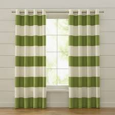 ont design ideas green curtain panels and white striped curtains home pictures