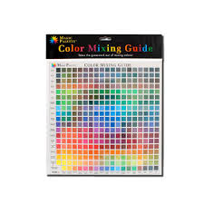 Buy Magic Palette Color Mixing Guide 11 5 Inch