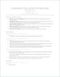 Sample Custodian Resume – Resume Web