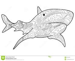 Small Picture Shark Mandala Coloring Pages Coloring Pages