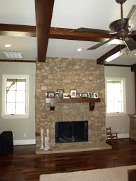 Open Stone Fireplace Interior Stone Fireplace Design Charlotte Nc Masters Stone Group