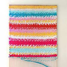 weave a boho t shirt rag rug with easy diy loom