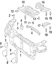 Genuine infiniti radiator support plug inf 0165800603