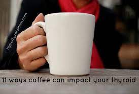 Water with electrolytes will not affect thyroid blood tests. 11 Ways Coffee Can Impact Your Thyroid Hypothyroid Mom