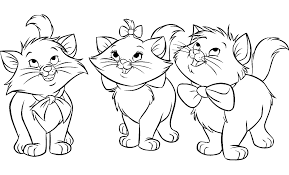Aristochats Disney 199 Coloriage Les Aristochats Coloriages Dessin Colorier Les Chatons L
