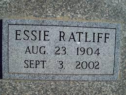 Essie Copeland Ratliff (1904-2002) - Find A Grave Memorial