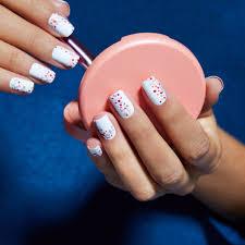 5 Nail Designs Quick And Easy Diy Nail Art Popsugar Beauty