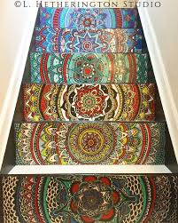 Painted Stairs When A Brilliantly Painted Stairs 260550