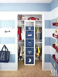 small closet ideas ikea kids closet makeover featuring an tower with double rods and labelled bins