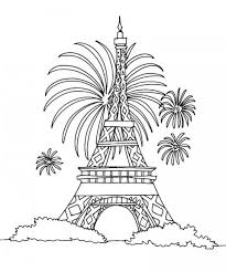 Small Picture Coloring Pages Of The Eiffel Tower Coloring Pages Of The Eiffel
